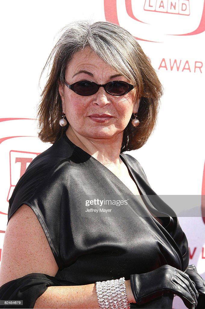 Roseanne Barr arrives to The 6th Annual 'TV Land Awards' on June 8, 2008 at the Barker Hanger in Santa Monica, California.