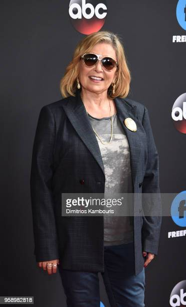 Roseanne Barr attends during 2018 Disney ABC Freeform Upfront at Tavern On The Green on May 15 2018 in New York City