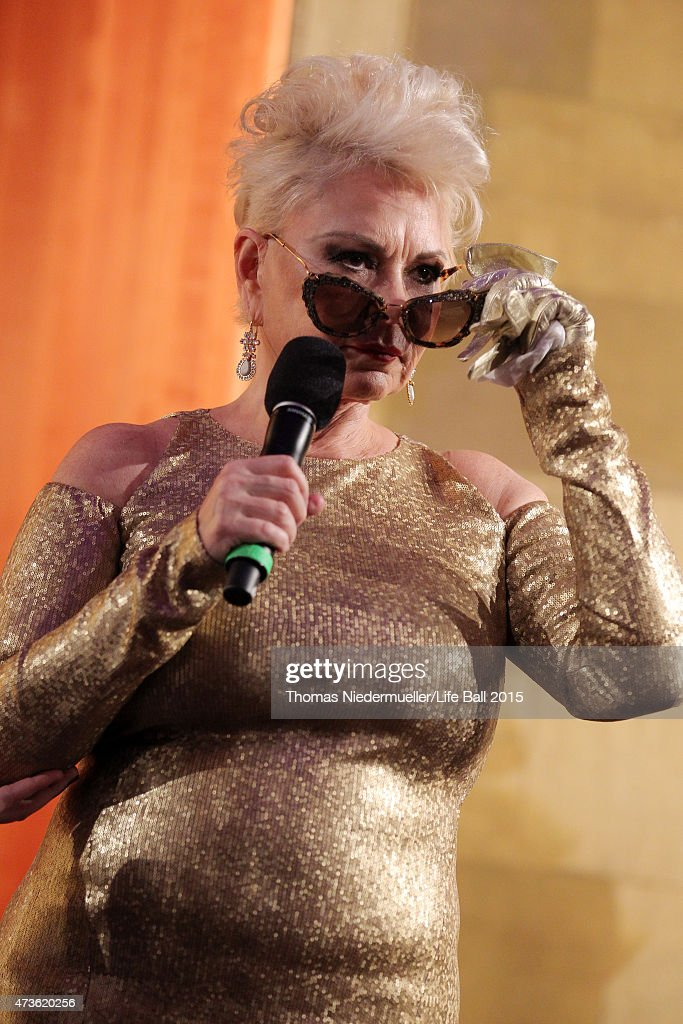 Roseanne Barr attends the AIDS Solidarity Gala at Hofburg Vienna on May 16, 2015 in Vienna, Austria.