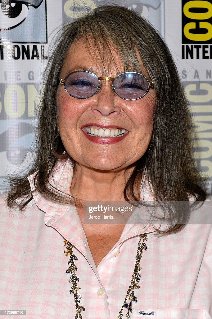 Roseanne Barr attends the Comedy Legends of TV Land press line Comic Con International 2013 at the Hilton San Diego Bayfront Hotel on July 18, 2013 in San Diego, California.