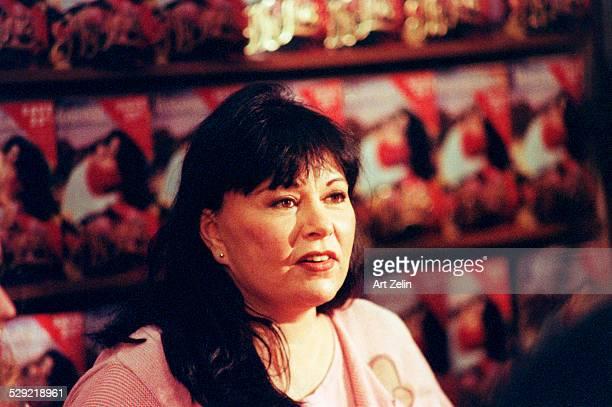 Roseanne Barr closeup circa 1990 New York