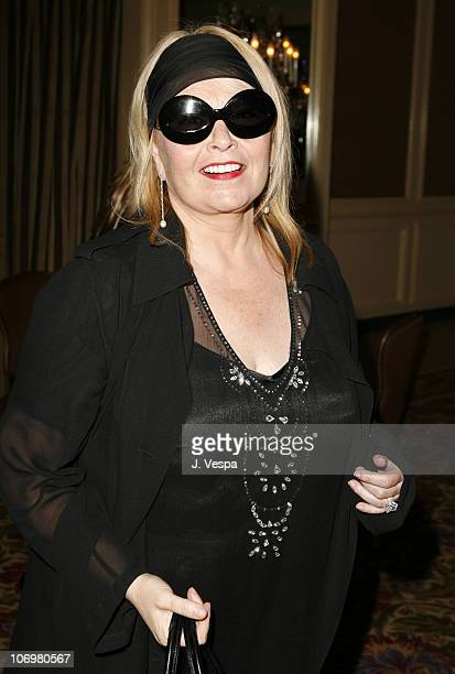 Roseanne Barr during AFI Honors Hollywood's Arquette Family With The Sixth Annual Platinum Circle Awards Green Room and Show in Los Angeles...