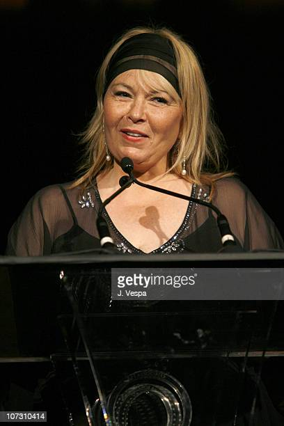 Roseanne Barr during AFI Honors Hollywood's Arquette Family With The Sixth Annual 'Platinum Circle Awards' Green Room and Show in Los Angeles...