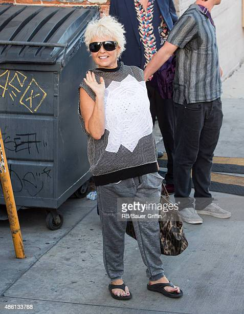 Roseanne Barr is seen on August 31 2015 in Los Angeles California