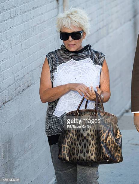 Roseanne Barr is seen on August 31 2015 in Los Angeles California