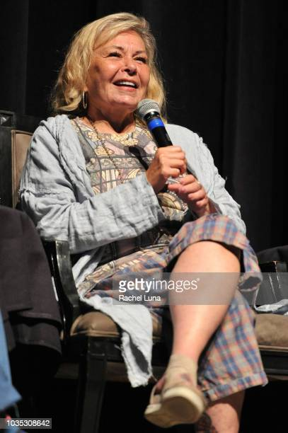 "Roseanne Barr participates in ""Is America a Forgiving Nation?,'' a Yom Kippur eve talk on forgiveness hosted by the World Values Network and the..."