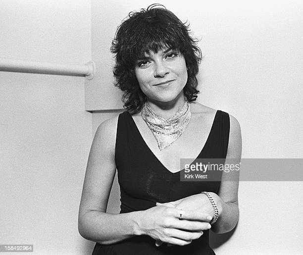 Roseanne Cash backstage at Park West Chicago Illinois May 3 1981