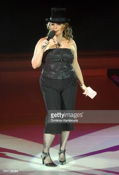 Roseanne during Lane Bryant Spring 2003 Fashion Show at Manhattan Center in New York City New York United States