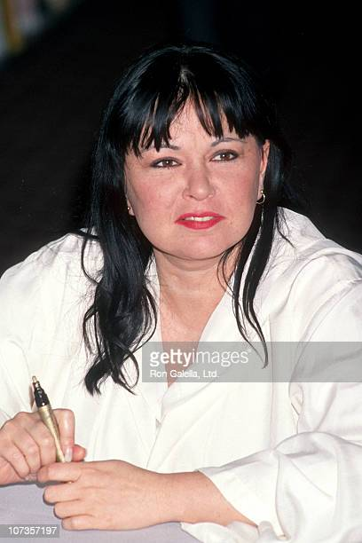 Roseanne during Rosanne Signs Her New Book 'My Lives' at Crown Bookstore in Torrance March 7 1994 at Crown Bookstore in Torrance California United...