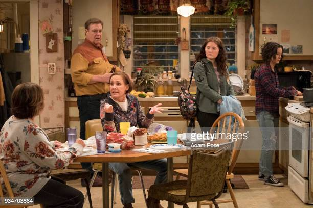 ROSEANNE 'Roseanne Gets the Chair' Roseanne's clash with Darlene over how she's raising her kids especially Harris reaches a breaking point while Dan...