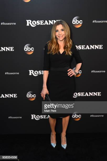 ROSEANNE Roseanne premiere event with KWalt Disney Television via Getty Images contest winners CHALKE