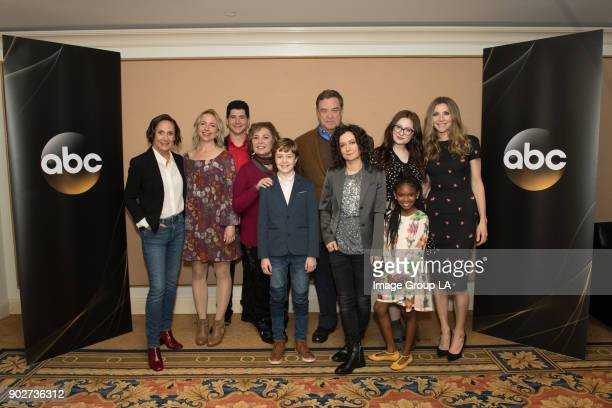 TOUR 2018 Roseanne Session The cast and executive producers of Roseanne addressed the press at Disney | ABC Television Group's Winter Press Tour 2018...