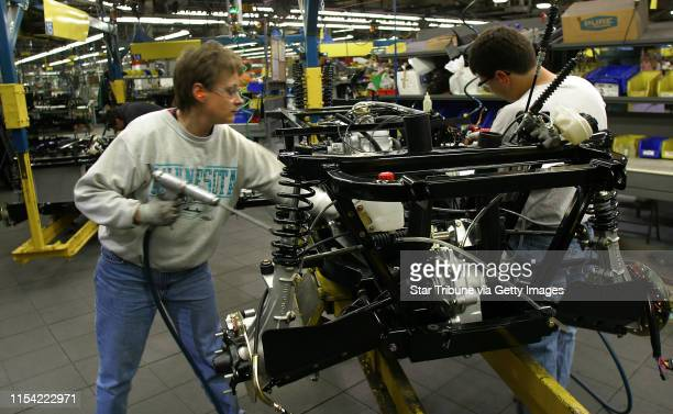 Roseau MN Monday Polaris Industries Plant in Roseau MN Captions to follow