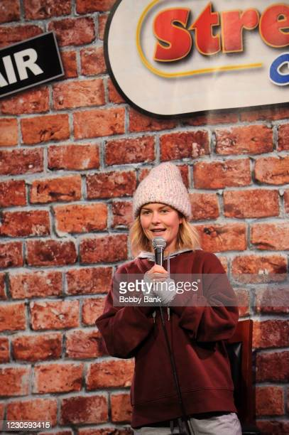 Rosebud Baker performs at The Stress Factory Comedy Club on January 14, 2021 in New Brunswick, New Jersey.
