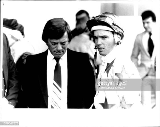 Silastic Auto StakesJockey N Barker and R H Thomsen August 03 1985