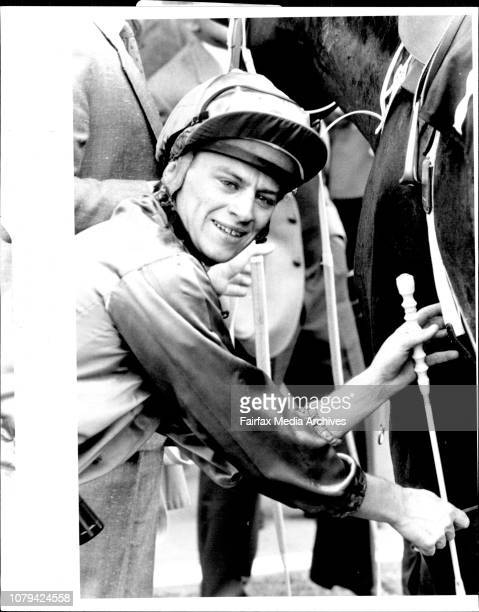 Rosehill Races Race 2 Silastic Marine HcpWinner on stageJockey R Dufficy August 3 1985