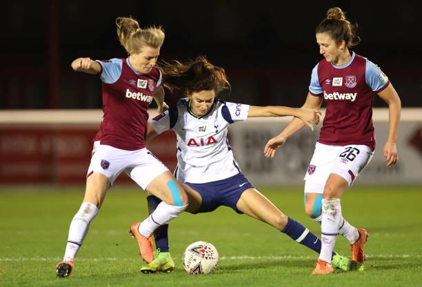 GBR: West Ham United Women v Tottenham Hotspur Women - Barclays FA Women's Super League