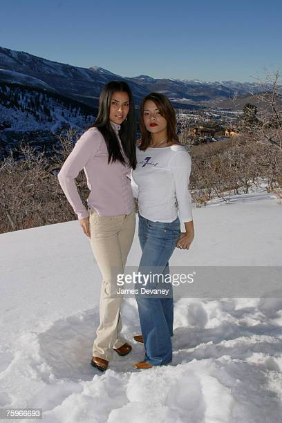 Roselyn Sanchez and Alisa Reyes in Seven for All Mankind jeans