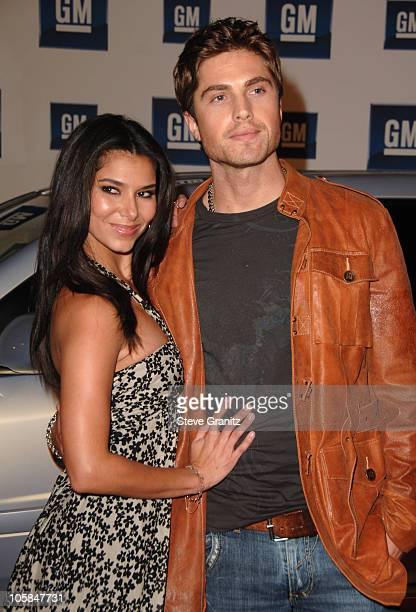 Roselyn Sanchez and Eric Winter during 6th Annual GM Ten - Arrivals at Paramount Studios in Hollywood, CA, United States.