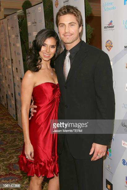 Roselyn Sanchez and Eric Winter during The National Hispanic Media Coalition 10th Annual Impact Awards Gala Arrivals at Regent Beverly Wilshire Hotel...