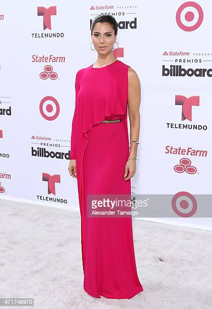 Roselyn Sanchez arrives at 2015 Billboard Latin Music Awards presented by State Farm on Telemundo at Bank United Center on April 30 2015 in Miami...