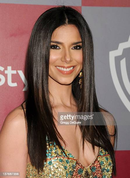 Roselyn Sanchez arrives at the 12th Annual Warner Bros and Instyle PostGolden Globe Party at the Beverly Hilton Hotel on January 16 2011 in Beverly...