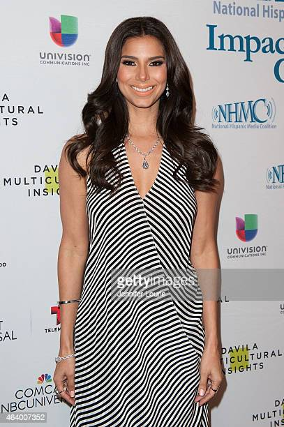 Roselyn Sanchez arrives at the 18th Annual NHMC Impact Awards Gala at the Regent Beverly Wilshire Hotel on February 20 2015 in Beverly Hills...