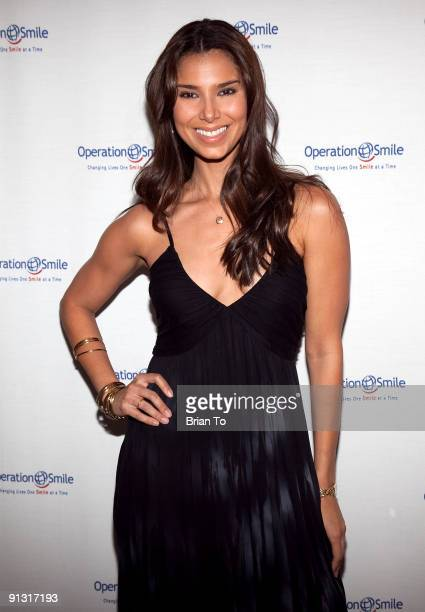 Roselyn Sanchez attends 8th Annual Operation Smile PreGala KickOff Reception at Lladro Boutique on October 1 2009 in Beverly Hills California