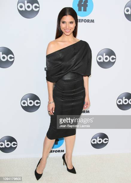 Roselyn Sanchez attends Disney ABC Television Hosts TCA Winter Press Tour 2019 on February 05 2019 in Pasadena California