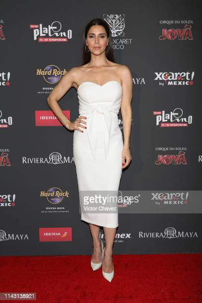 Roselyn Sanchez attends some interviews before the 6th Platino Awards on May 11 2019 in Playa del Carmen Mexico