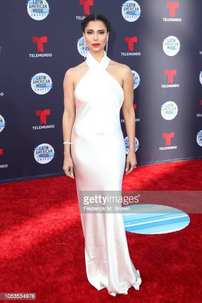 Roselyn Sanchez attends the 2018 Latin American Music Awards at Dolby Theatre on October 25 2018 in Hollywood California
