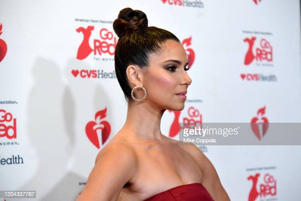 Roselyn Sanchez attends The American Heart Association's Go Red for Women Red Dress Collection 2020 at Hammerstein Ballroom on February 05 2020 in...