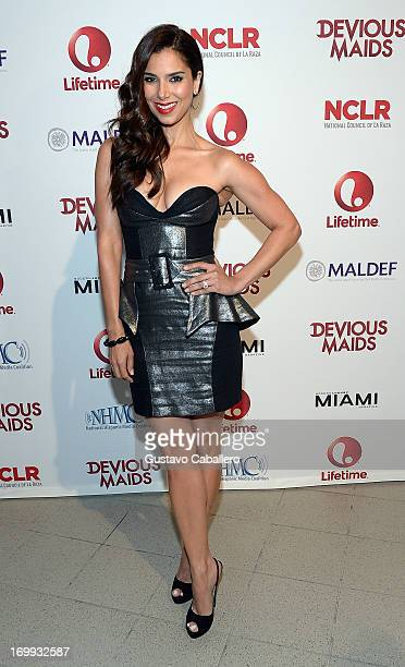Roselyn Sanchez attends the Lifetime's 'Devious Maids' Miami Screening at Regal Cinemas South Beach Stadium 18 on June 4 2013 in Miami Florida