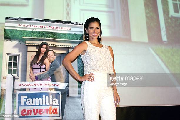 Roselyn Sanchez attends the Meet and Greet of TV show 'Familia En Venta' on August 6 2014 in San Juan Puerto Rico