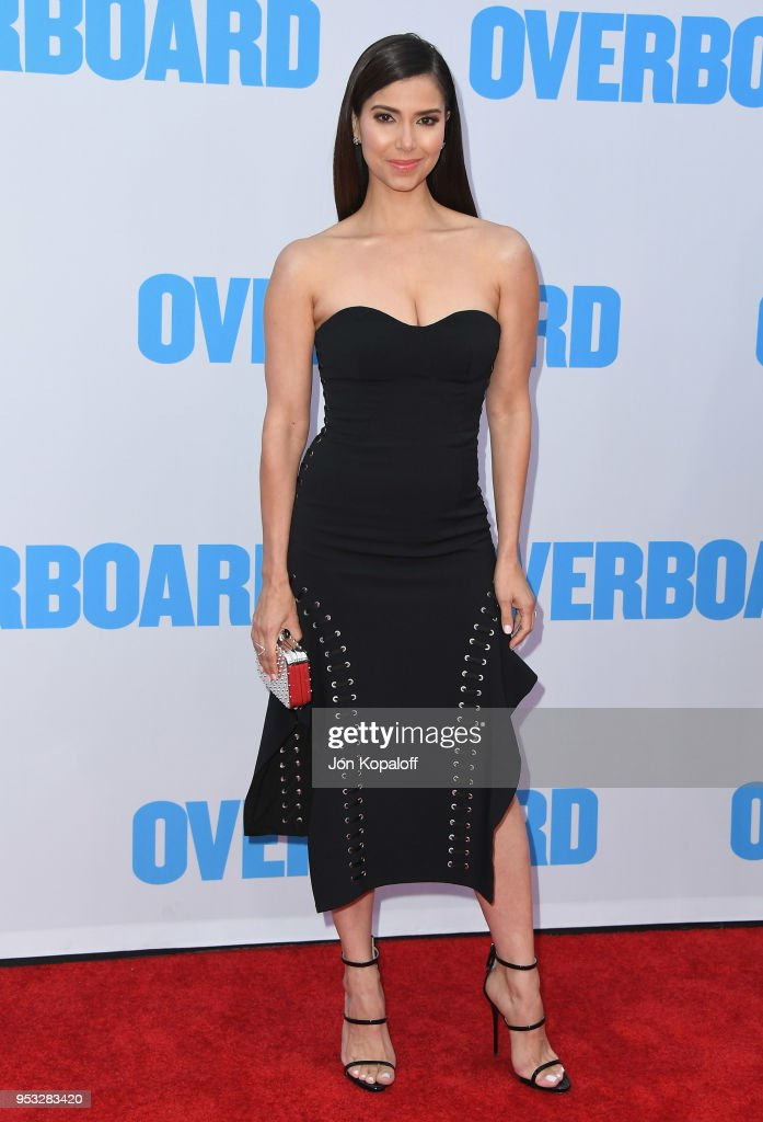 Roselyn Sanchez attends the premiere of Lionsgate and Pantelion Film's 'Overboard' at Regency Village Theatre on April 30, 2018 in Westwood, California.
