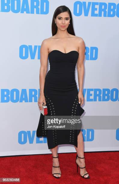 Roselyn Sanchez attends the premiere of Lionsgate and Pantelion Film's Overboard at Regency Village Theatre on April 30 2018 in Westwood California