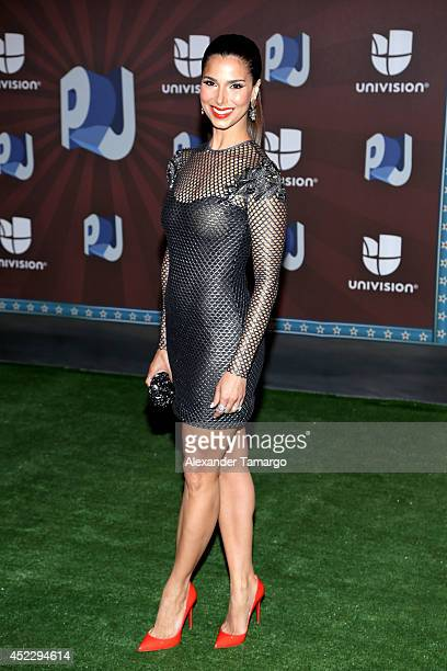 Roselyn Sanchez attends the Premios Juventud 2014 at The BankUnited Center on July 17 2014 in Coral Gables Florida