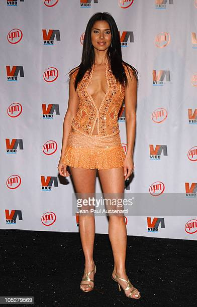Roselyn Sanchez during 2003 VIBE Awards Pressroom at Civic Auditorium in Santa Monica California United States