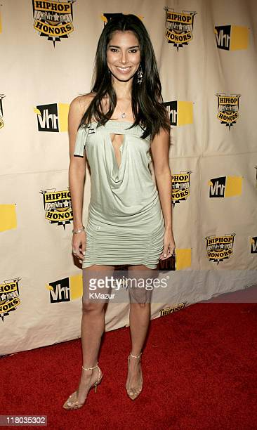 Roselyn Sanchez during 2004 VH1 Hip Hop Honors Red Carpet at Hammerstein Ballroom in New York City New York