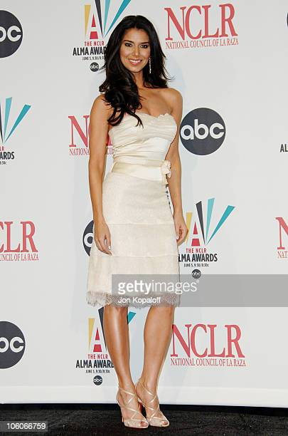 Roselyn Sanchez during 2006 NCLR ALMA Awards Press Room at Shrine Auditorium in Los Angeles California United States