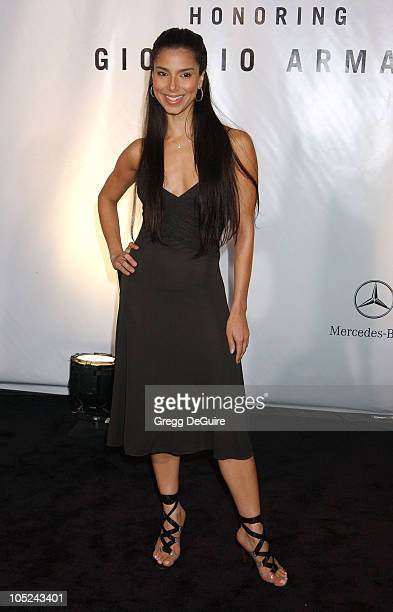 Roselyn Sanchez during Giorgio Armani Receives First 'Rodeo Drive Walk Of Style' Award at Rodeo Drive in Beverly Hills California United States