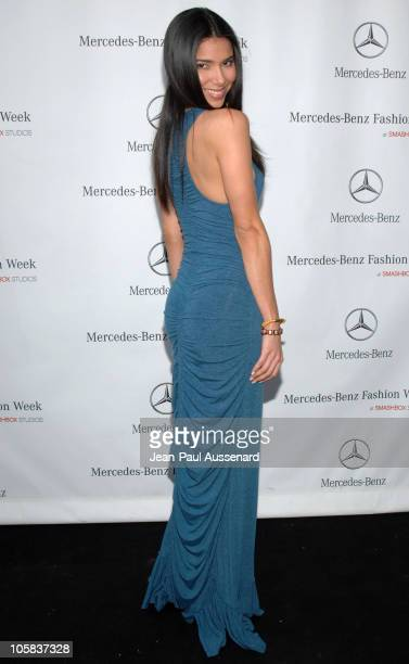 Roselyn Sanchez during MercedesBenz Fall 2006 LA Fashion Week at Smashbox Studios Day 4 Arrivals at Smashbox Studios in Culver City California United...