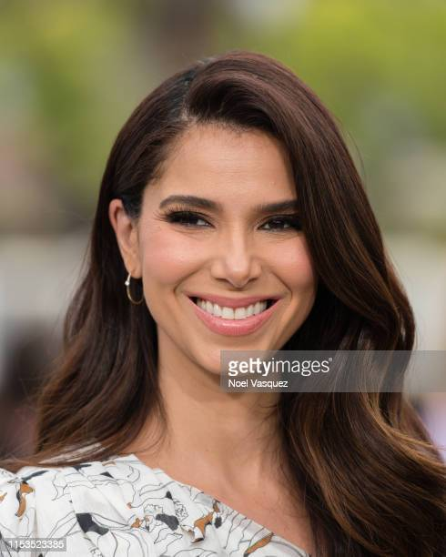 Roselyn Sanchez visits Extra at Universal Studios Hollywood on June 03 2019 in Universal City California