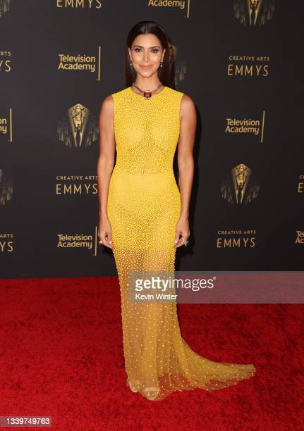 Roselyn Sánchez attends the 2021 Creative Arts Emmys at Microsoft Theater on September 11, 2021 in Los Angeles, California.