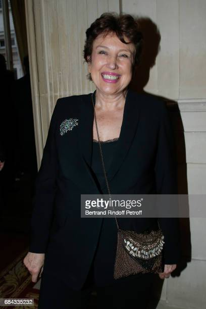 Roselyne Bachelot attends the 'Vaincre Le Cancer' Gala 30th Anniverary at Cercle de l'Union Interalliee on May 17 2017 in Paris France