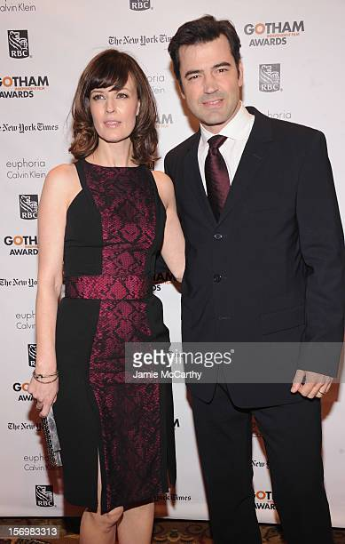 Rosemarie DeWitt and Ron Livingston attend the 22nd Annual Gotham Independent Film Awards at Cipriani Wall Street on November 26 2012 in New York City