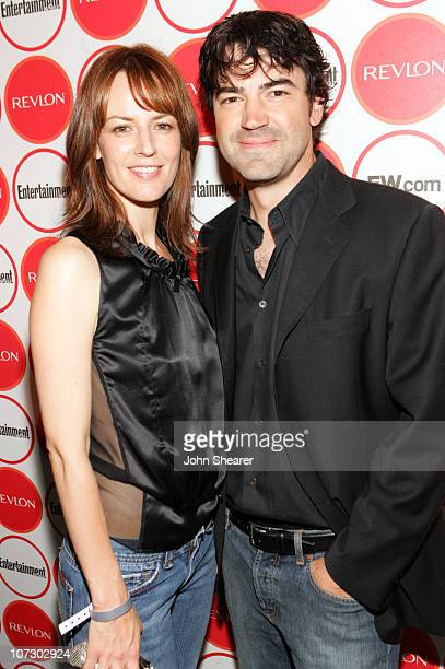 Rosemarie DeWitt and Ron Livingston during Entertainment Weekly Magazine 4th Annual Pre-Emmy Party - Inside at Republic in Los Angeles, California,...