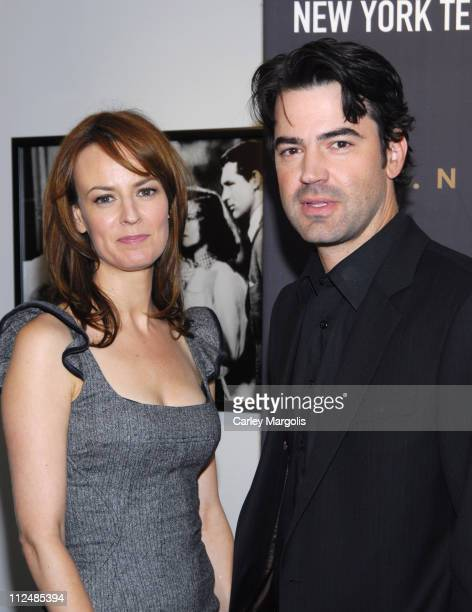 Rosemarie DeWitt and Ron Livingston during New York Television Festival Screening and Q/A With Stars of Standoff in New York City New York United...