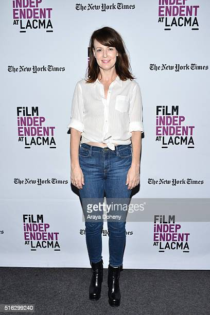 Rosemarie DeWitt attends the Film Independent At LACMA Live Read of Stand By Me at Bing Theatre At LACMA on March 17 2016 in Los Angeles California