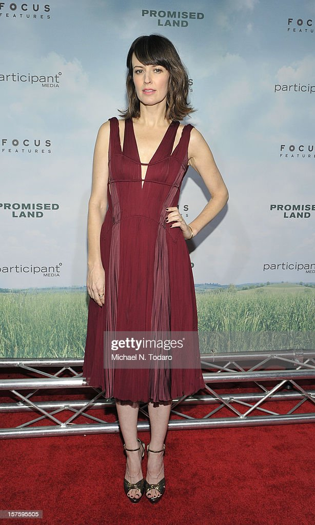 Rosemarie DeWitt attends the 'Promised Land' premiere at AMC Loews Lincoln Square 13 on December 4, 2012 in New York City.